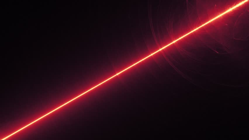 Fantastic space wave object in motion, glowing energy rays, HD 1080p video animation #18133492