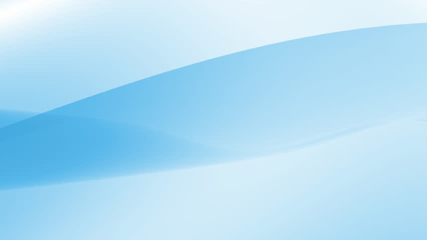 A looping blue wave gently flows over a white background. Use as a background.