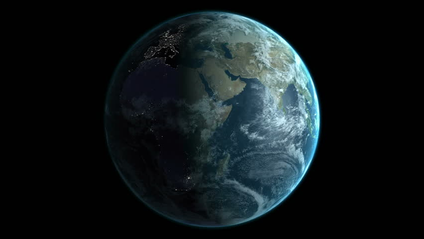 Animation of spinning earth | Shutterstock HD Video #18267532