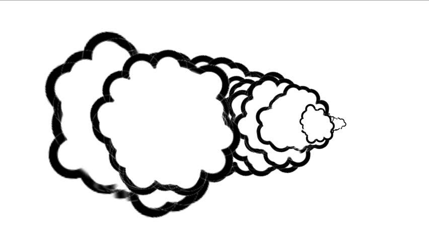 4k Fireworks Smokepollution Air Gasvolcanic Stock Footage Video