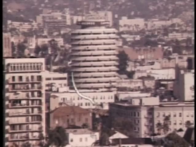 Montage views of Los Angeles, California