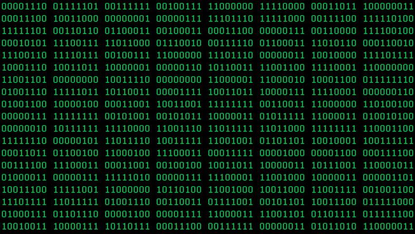 Binary Code Wall Animation Stock Footage Video 3191083 | Shutterstock