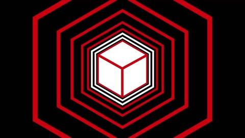 Cube Tunnel Vj Loop