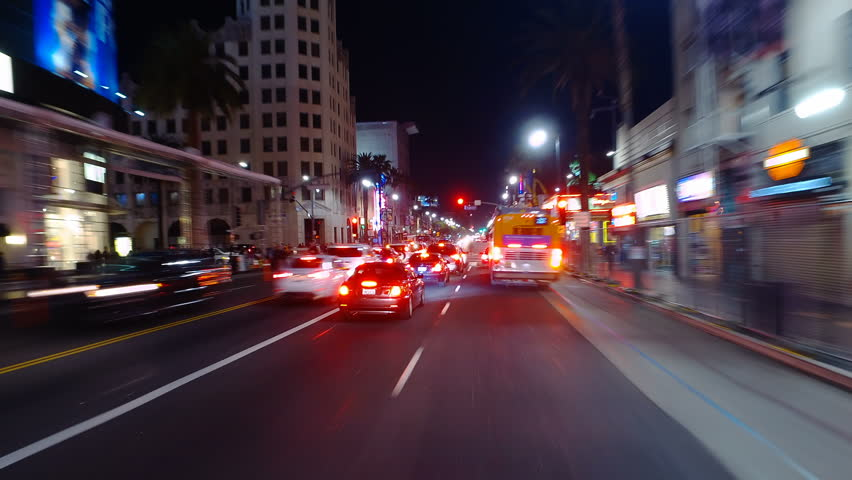 Free Hollywood walk of fame Stock Video Footage Download 4K