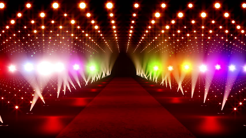 Red carpet festival scene animation stock footage video - Oscar award wallpaper ...