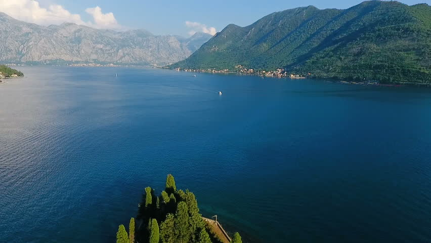 Montenegro, bay air shooting | Shutterstock HD Video #18813302