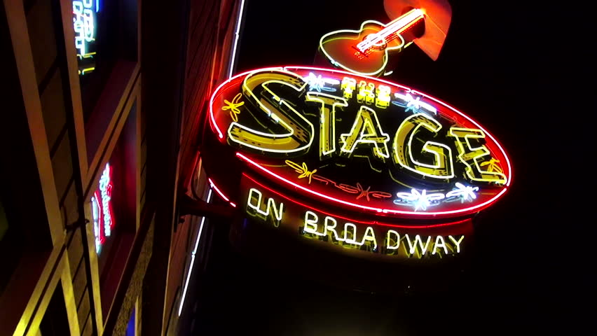 The Famous Stage on Broadway in Nashville Tennessee - NASHVILLE / TENNESSEE - NOVEMBER 4, 2014