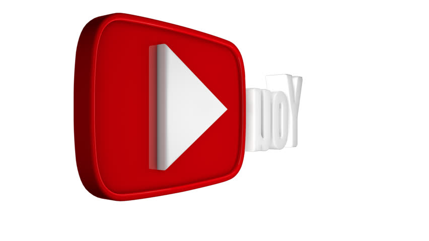 This Looped Wide Youtube Logo Stock Footage Video 100 Royalty Free 18900152 Shutterstock