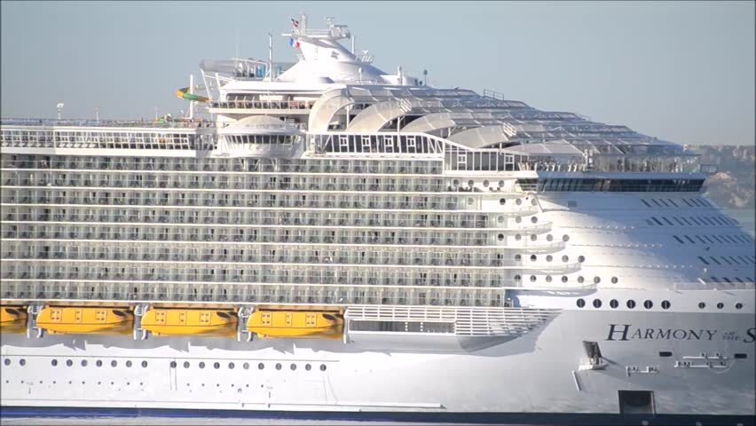 Cruise Ship Port Side View Stock Footage Video Shutterstock - Port side of a cruise ship