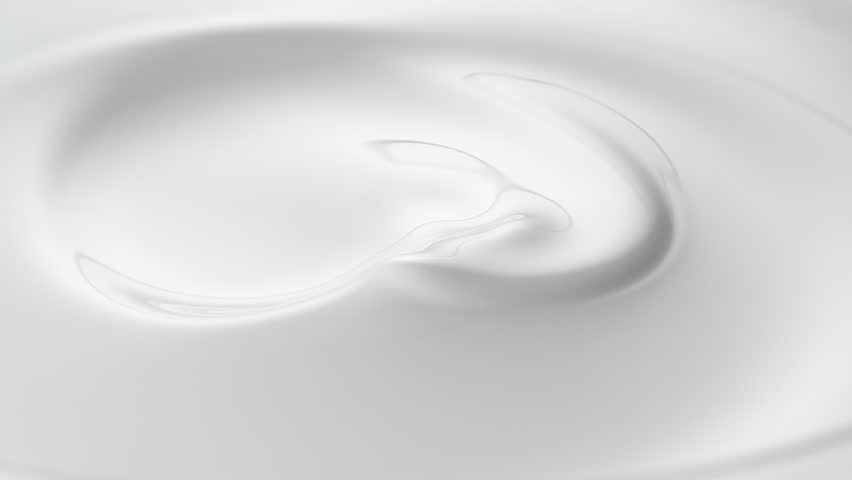 Swirl in milky liquid surface. Shot with high speed camera, phantom flex 4K. Slow Motion. #19045972