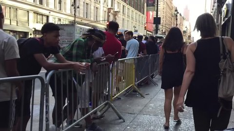 b700dc61c14195 New York City - August 30 2016  Foot Locker new flagship store grand  opening in