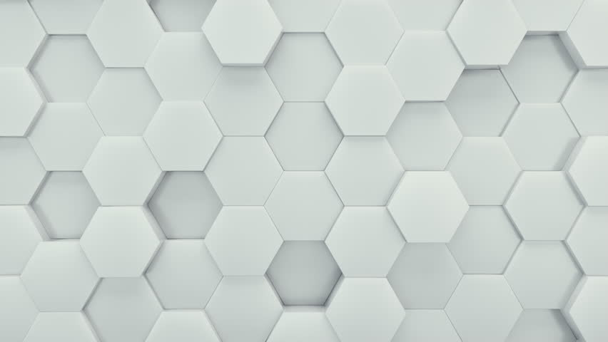 Abstract Hexagons Background Random Motion, 3d Loopable Animation 4k | Shutterstock HD Video #19181332