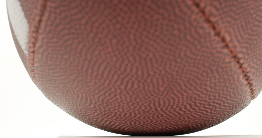 Football Rotating Isolated on White Close Up, 4K | Shutterstock HD Video #19390732