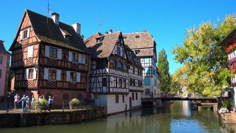 Strasbourg, river, petite France