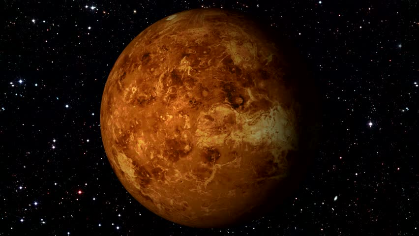 Planet Mars Rotating In Space Stock Footage Video 18275191 ...
