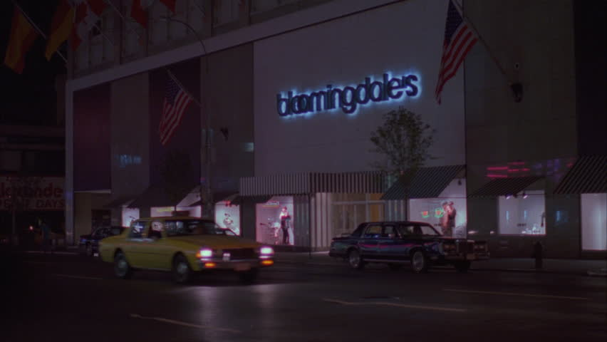 Night Rake right department store Bloomingdale's New York | Shutterstock HD Video #19602922