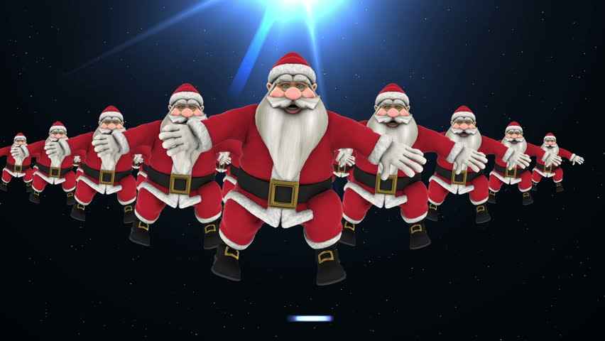 Christmas Dancing Santa.Hip Hop Dance 2 Stock Footage Video 100 Royalty Free 19626502 Shutterstock