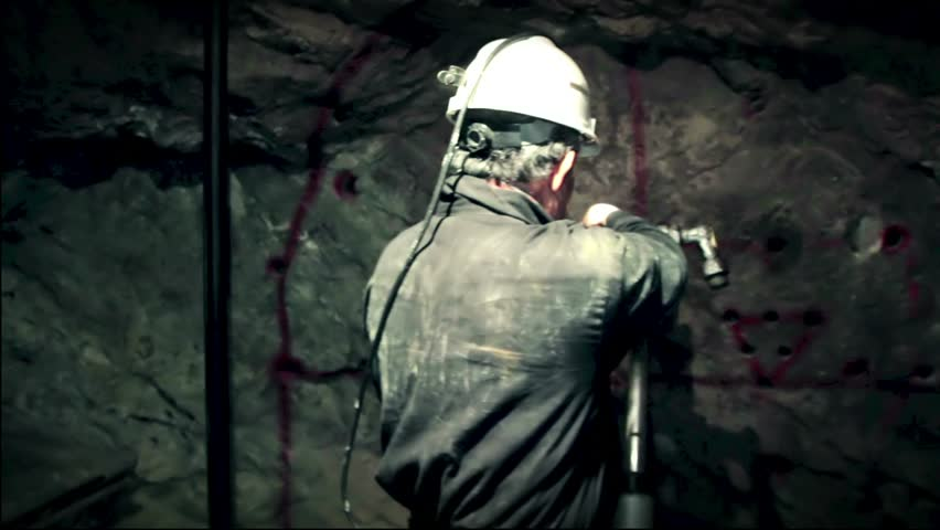 Miner at work | Shutterstock HD Video #1970902