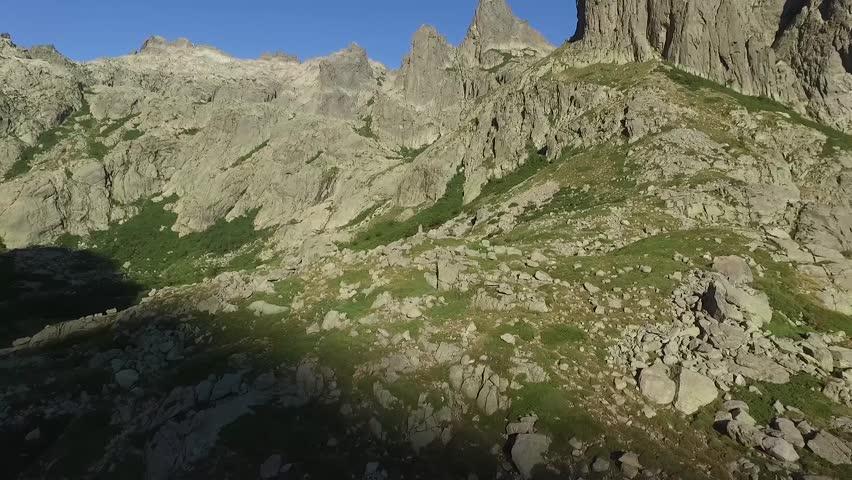 Mountain retreat in the lakes, beautiful blue sky | Shutterstock HD Video #19775272