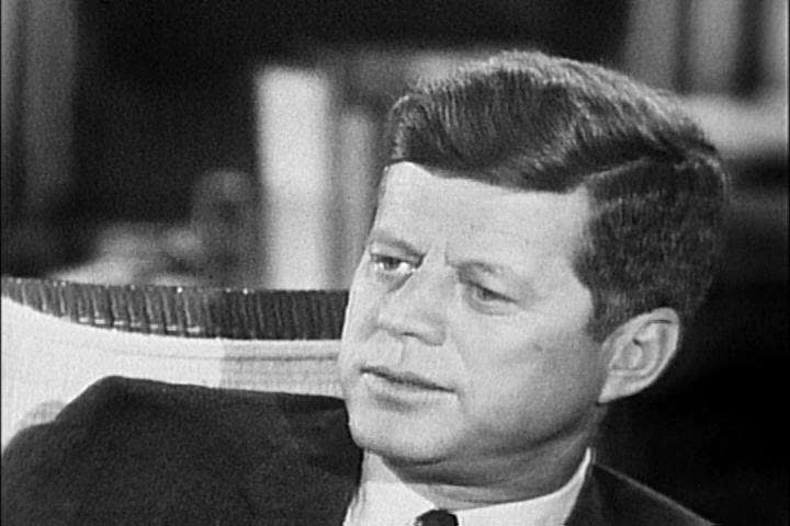 John F Kennedy discusses his chances for success in Congress during his first two years in office in the 1960s. (1960s)