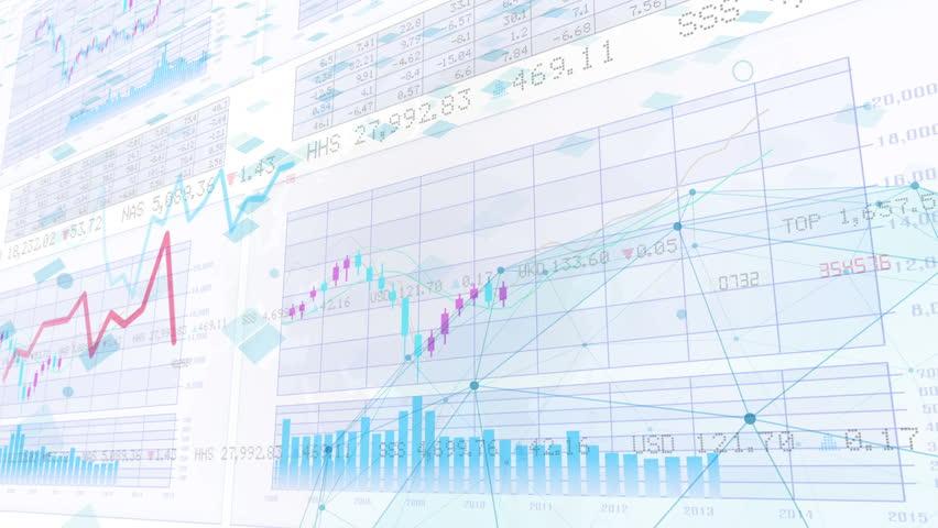 Business Data Graph. | Shutterstock HD Video #19859524