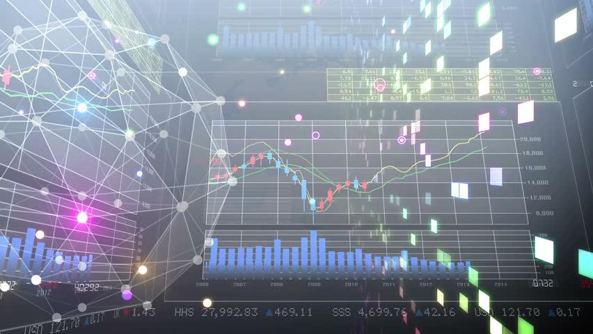 Business Data Graph. | Shutterstock HD Video #19859542