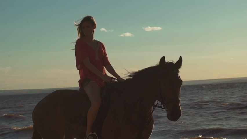 Girl Riding Video