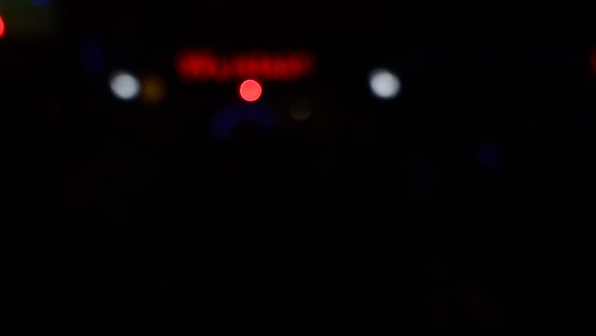Blur lights concert in club party | Shutterstock HD Video #20177302