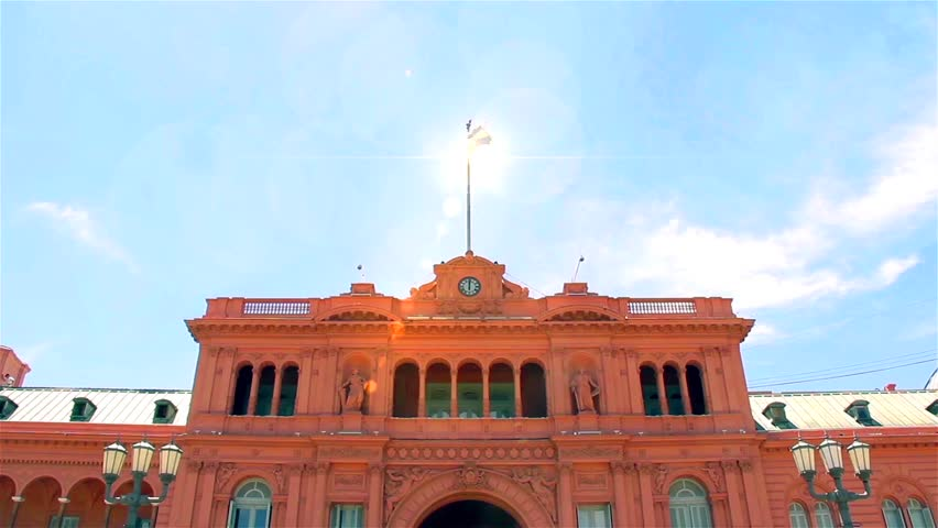 Casa Rosada Building (The Pink House) in Buenos Aires (Argentina).