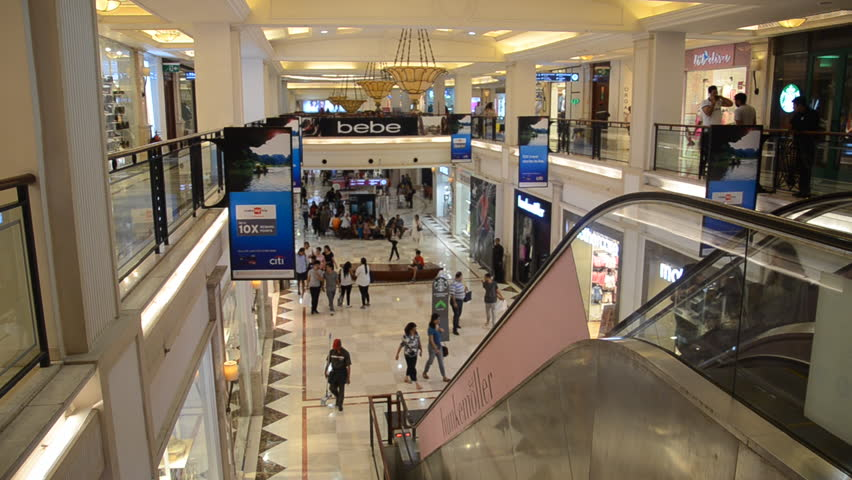 Promenade Mall,Vasant kunj, New Delhi, India- 1st April, 2016: Shot of people shooping, window shopping at a Mall in India   Shutterstock HD Video #20457292