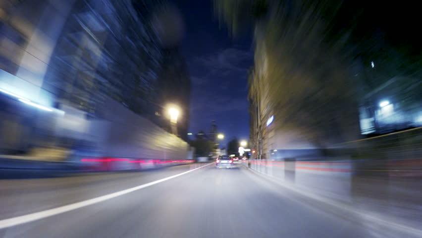 Night road POV around the Kremlin at night timelapse | Shutterstock HD Video #20579722
