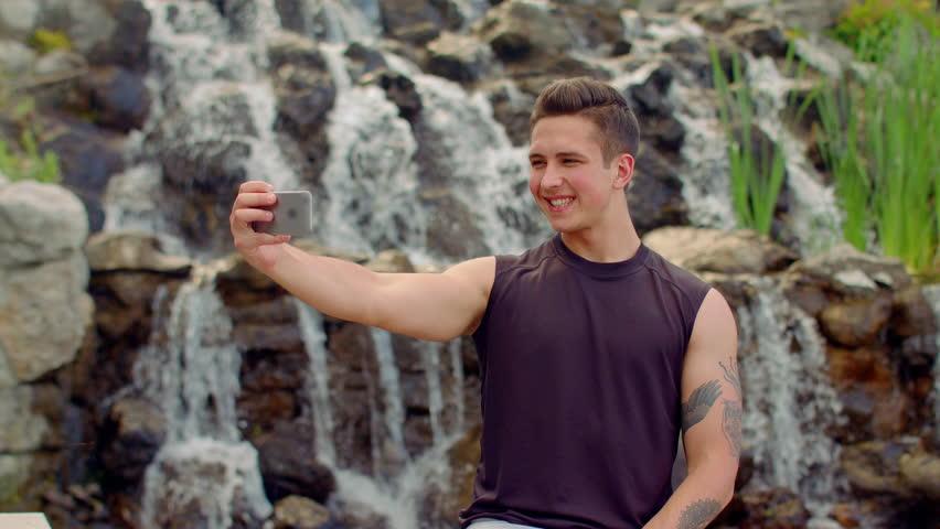 Gay outdoor clips