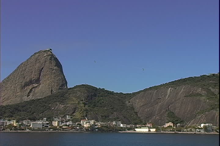 Sugarloaf Trams over Urca