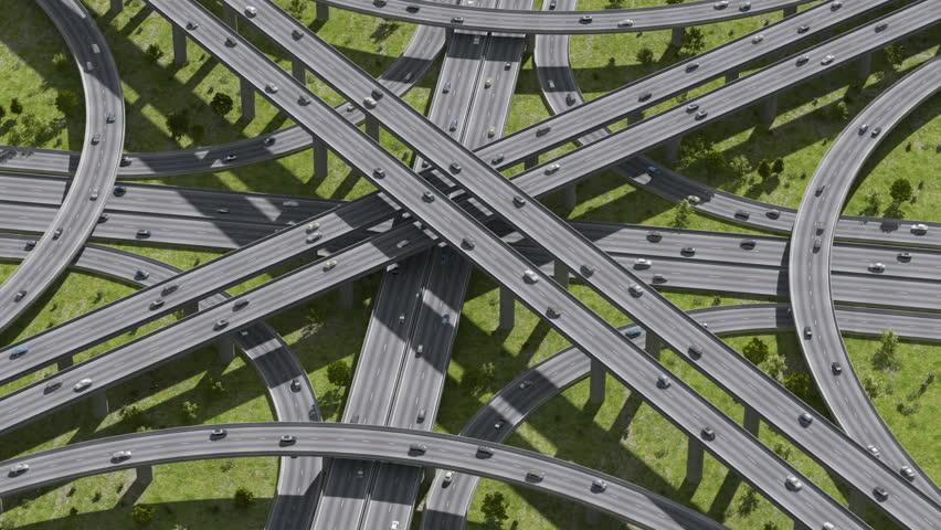 Highway junction | Shutterstock HD Video #2070812