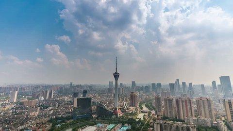 telecom tower in chengdu, China