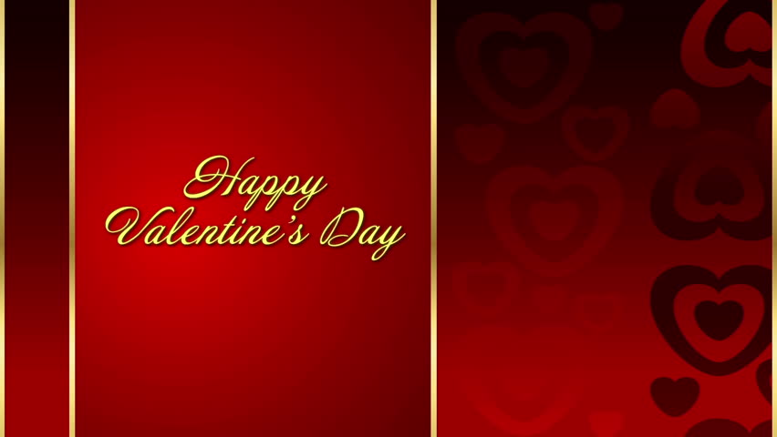 Valentines Day Animated Background Footage Video 9667241 – Valentines Day Animated Cards