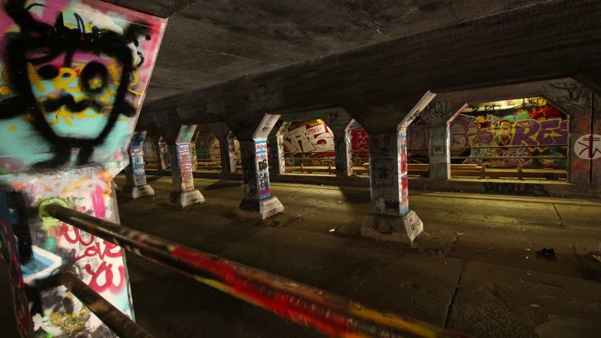 Taken on October 17th, 2016 - Graffiti on the walls of Krog Street Tunnel in Atlanta, Georgia, USA