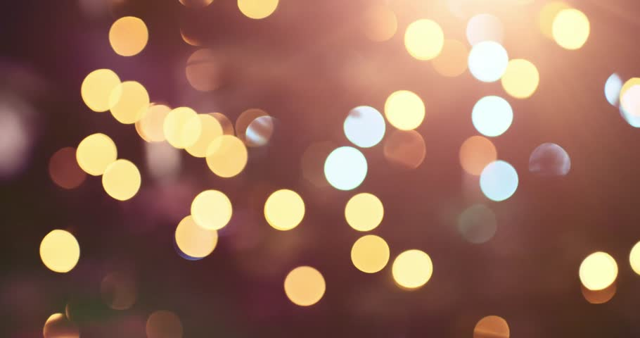 Abstract Blurred Christmas Lights Bokeh Background. 4K DCi SLOW MOTION 120 fps. Blinking Christmas Tree Lights Twinkling. Winter Holidays Concept. DOLLY SHOT | Shutterstock Video #20836555