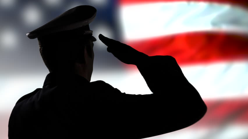 Soldier Salute Stock Footage Video | Shutterstock