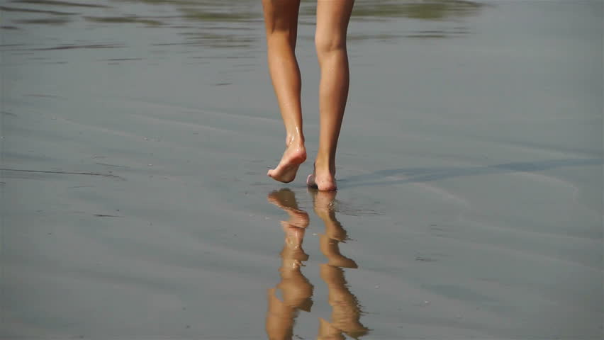 Walking on the sand   Shutterstock HD Video #2088551