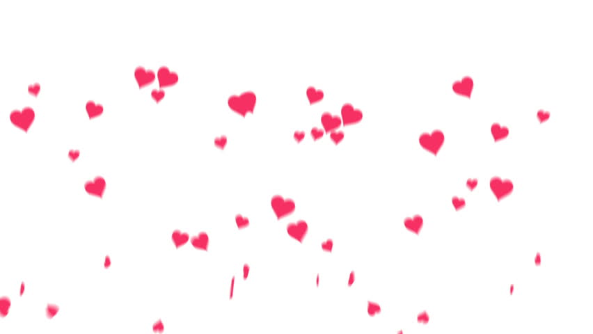 Valentine Day Heart Background 5 Stock Footage Video 100 Royalty