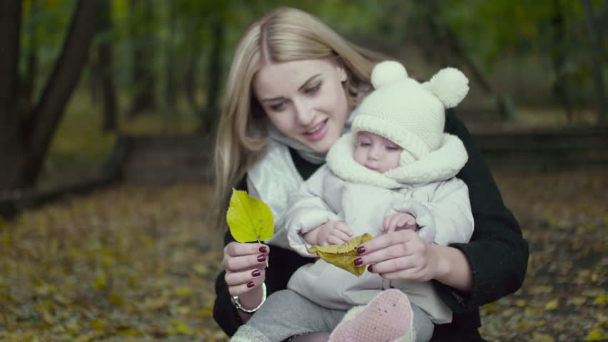 9184519f5ac3 Mother and Daughter Play in Stock Footage Video (100% Royalty-free ...