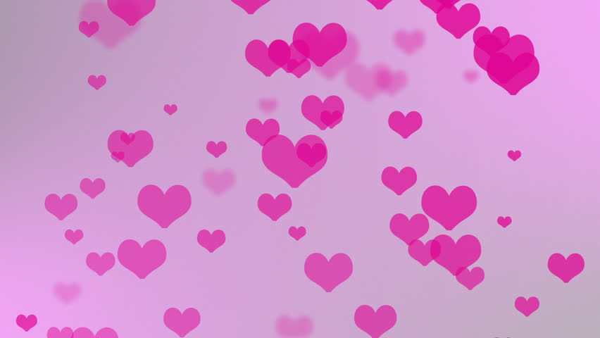 Abstract Background Valentines Day Stock Footage Video 100