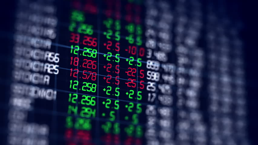 Loopable financial chart and stock market bar chart for use as  financial report and stock market presentation | Shutterstock HD Video #21056467