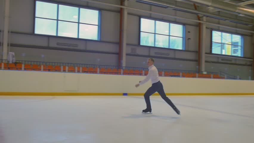 Jumping of the Figure Skater | Shutterstock HD Video #21149659