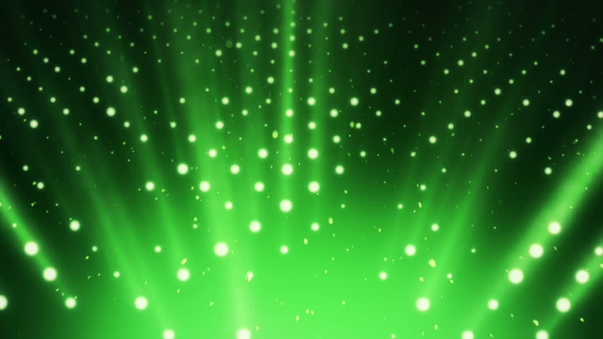Abstract background with wall from lamps of bright light. Glowing and bright light bulbs. Projector of light rays. Animation of seamless loop. | Shutterstock HD Video #21158842
