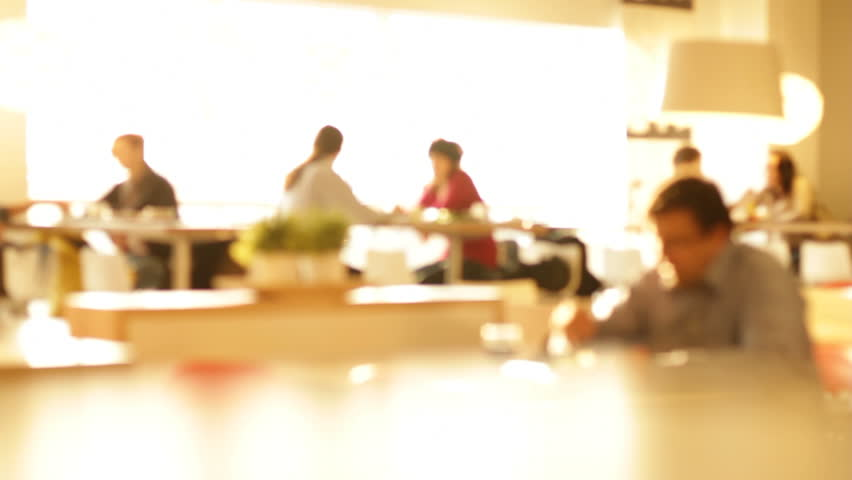 Restaurant Background With People restaurant with people 2 stock footage video 2117852 | shutterstock
