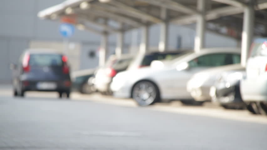 Outdoor parking lot 7. Car Parking Stock Footage Video   Shutterstock