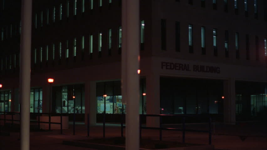 Side Of Building At Night