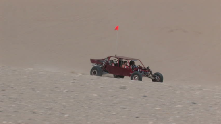 Dune Buggy Climbing Sand Mountain Stock Footage Video (100% Royalty-free)  213202 | Shutterstock